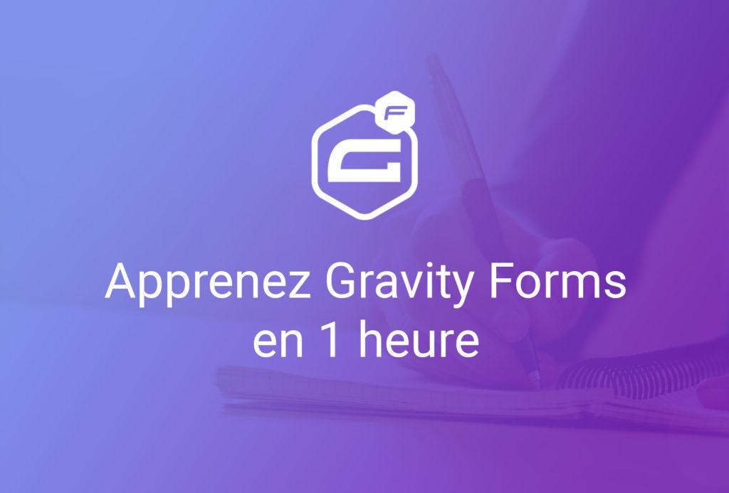formation apprenez gravity forms en 1 heure
