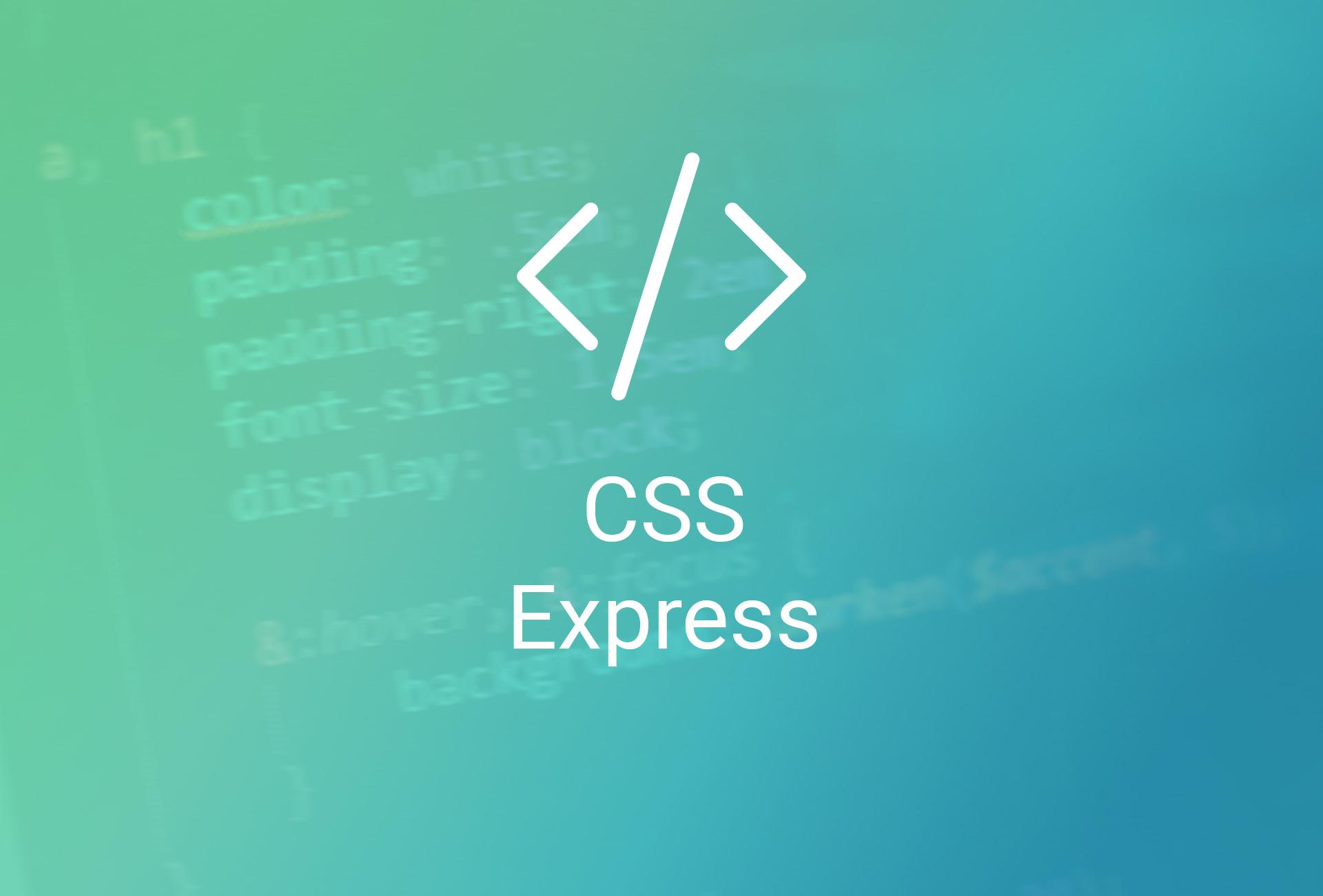 CSS Express – Édition complète