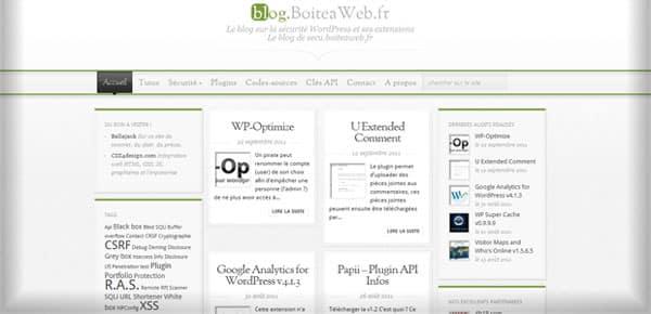 Boite à Web