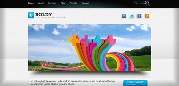Boldy - Un thème WordPress Gratuit pour votre Blog