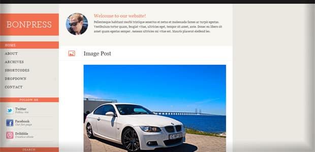 Bonpress - Un thème WordPress Gratuit pour votre Blog