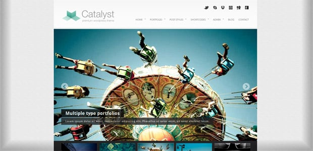 Catalyst - Thème WordPress Photo