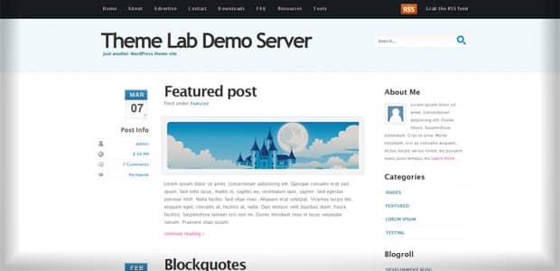 Coolblue - Un thème WordPress Gratuit pour votre Blog