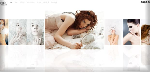 Core - Thème WordPress Photo