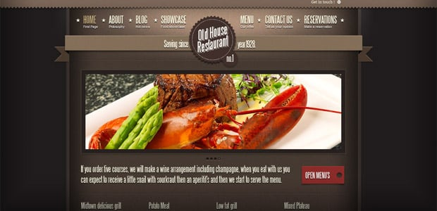 Ermark Adora - Theme WordPress Restaurant