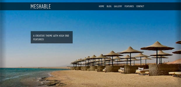 Meshable - Thème WordPress Photo