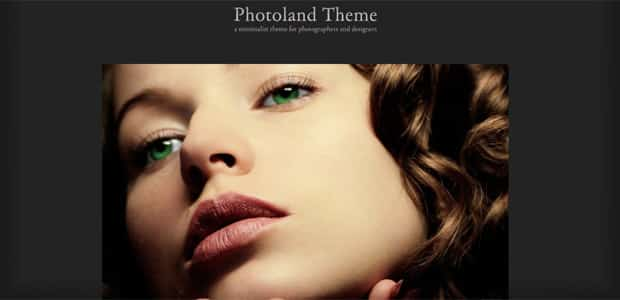 Photoland - Thème WordPress Photo