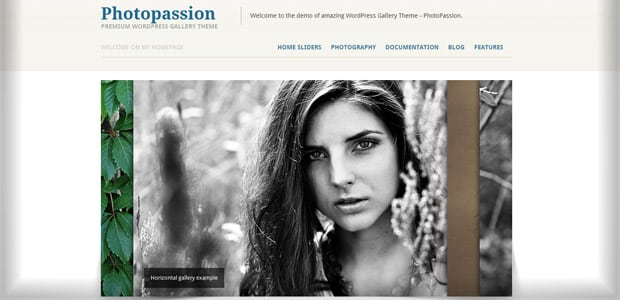 Photopassion - Thème WordPress Photo