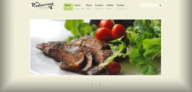Restaurant Pro - Theme WordPress Restaurant