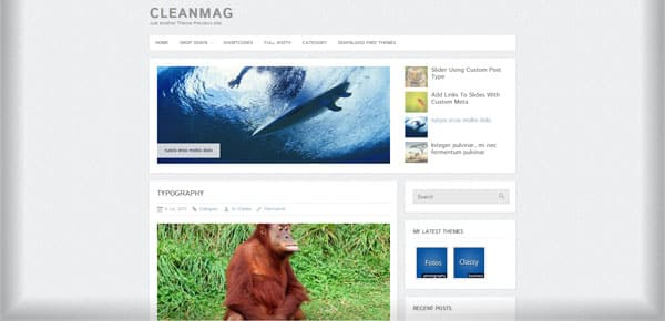 CleanMag - Theme WordPress Gratuit