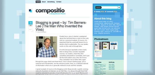 Compostio - Theme WordPress Gratuit