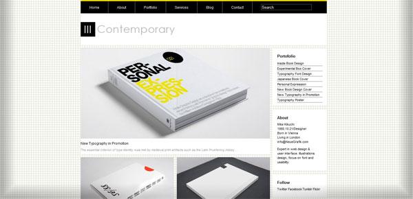 20 th u00e8mes wordpress minimalistes et gratuits