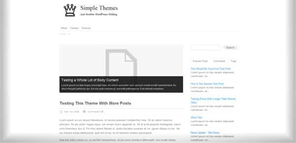 Desire - Theme WordPress Gratuit Minimaliste