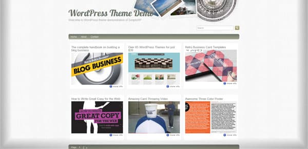 Fliphoto - Theme WordPress Gratuit