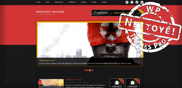Maralesco Magazine - Theme WordPress Gratuit