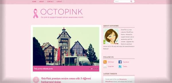 Octopink - Theme WordPress Gratuit