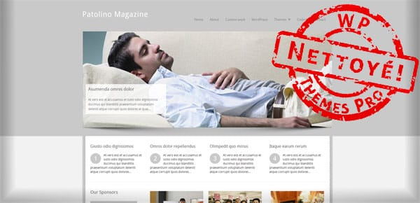 Patolino magazine - Theme WordPress Gratuit