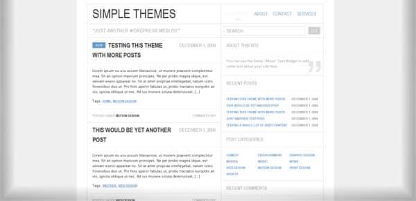 Steira - Theme WordPress Gratuit Minimaliste