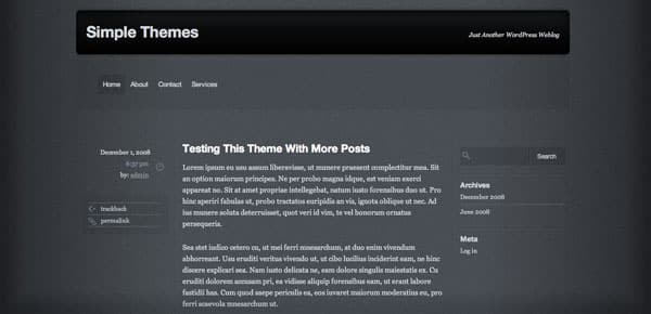Grey Opaque - Un Theme WordPress Sombre et Gratuit