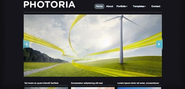 Potoria - Un Theme WordPress Sombre et Gratuit