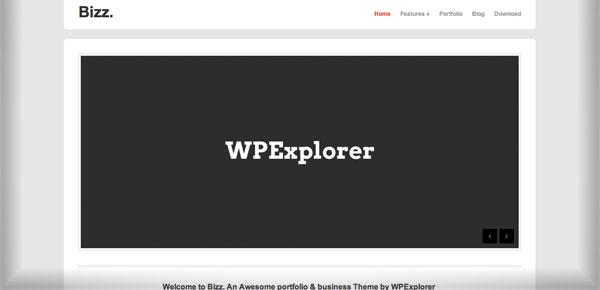 Bizz - Nouveau Theme WordPress Gratuit 2012