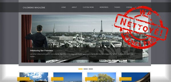 Calomino Magazine - Nouveau Theme WordPress Gratuit 2012