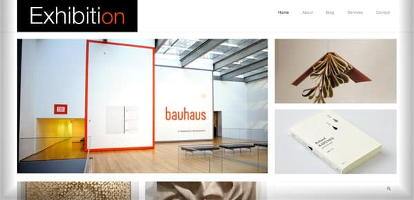 Exhibition - Nouveau Theme WordPress Gratuit 2012