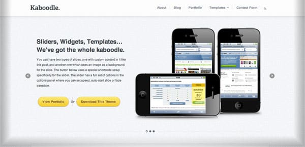 Kaboodle - Theme WordPress blog