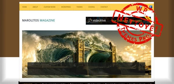 Marolitos - Nouveau Theme WordPress Gratuit 2012