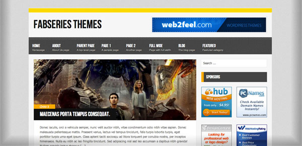 Myst - Nouveau Theme WordPress Gratuit 2012