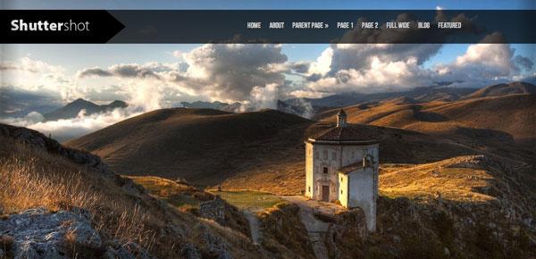 Shutter Shot - Nouveau Theme WordPress Gratuit 2012