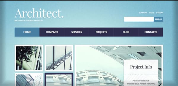 Thème WordPress Business - Architect