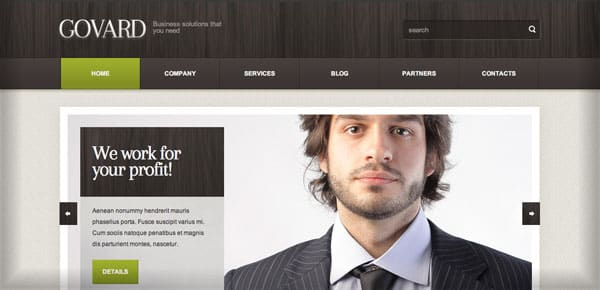 Thème WordPress Business - Govard