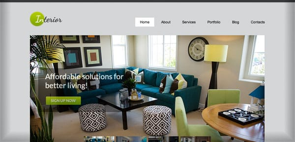 Theme WordPress Business - Interior