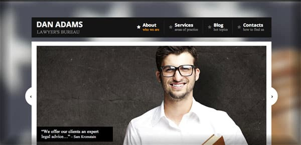 Theme WordPress Business - Lawyer