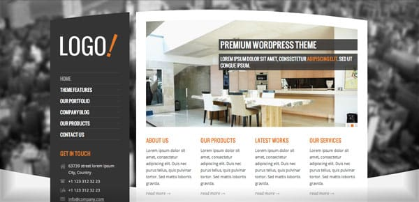 Thème WordPress Business - RT-Theme 15