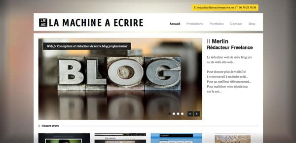 La machine à Ecrire