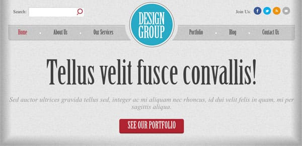 Thème WordPress Gratuit - Design Group