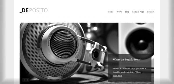 Meilleur theme WordPress - Deposito