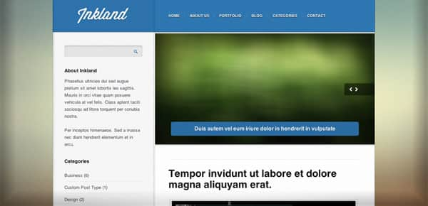Meilleur theme WordPress - Inkland