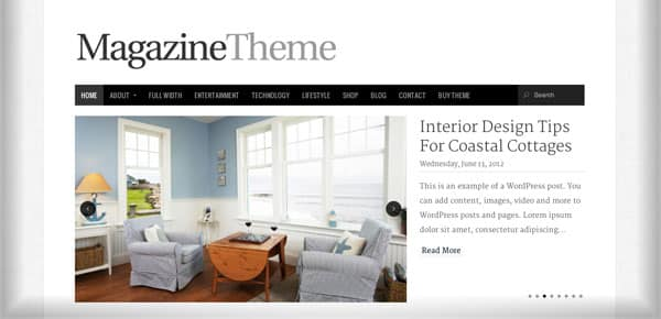 Meilleur theme WordPress - Magazine Theme