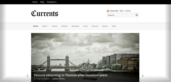 Theme WooThemes - Currents