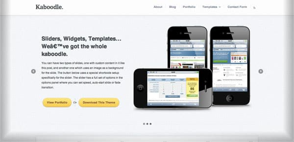 Theme WooThemes - Kaboodle