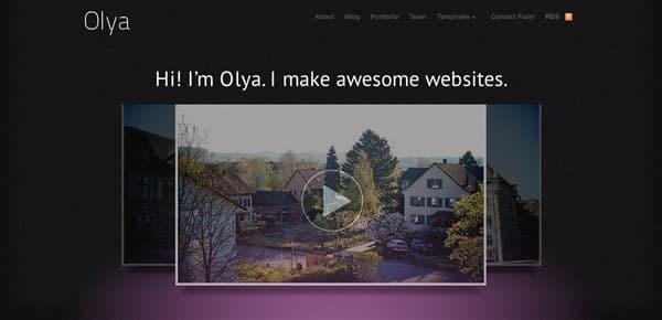 Theme WooThemes - Olya