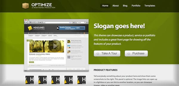 Theme WooThemes - Optimize