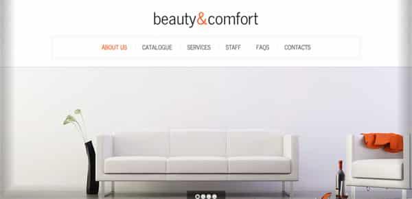 Theme WordPress Minimaliste - Beauty & Comfort