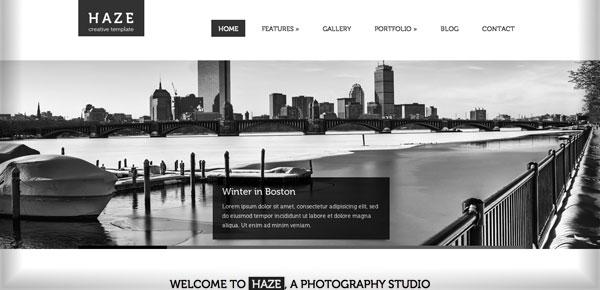 Theme WordPress Minimaliste - Haze
