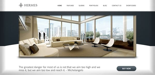 Theme WordPress Minimaliste - Hermes