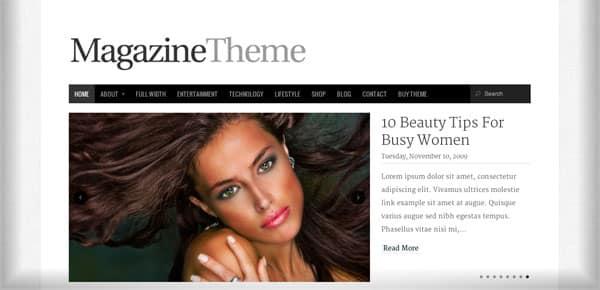 Theme WordPress Minimaliste - Magazine Theme
