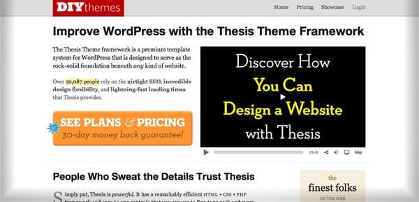 Theme WordPress Minimaliste - Thesis